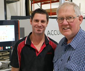 HOLZHER Australia reference customer Janper - Accura edge banding machine