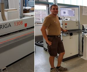 HOLZHER customer reference Wieland from Gernsbach is satisfied with CNC and edge processing